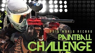 2016 Paintball Challenge - Official Guinness World Record Attempt