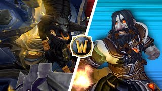 Shaman GOD Vs Immortal WARRIOR! (1v1 Duels) - PvP WoW: Battle For Azeroth 8.1