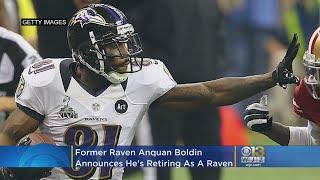 Former Baltimore Raven Anquan Boldin Announces He's Retiring As A Raven