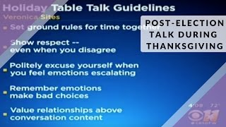 Holiday Table Talk Guidelines | Veronica Sites
