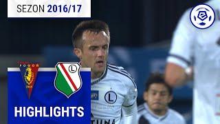 Pogoń Szczecin - Legia Warszawa 3:2 [skrót] sezon 2016/17 kolejka 12