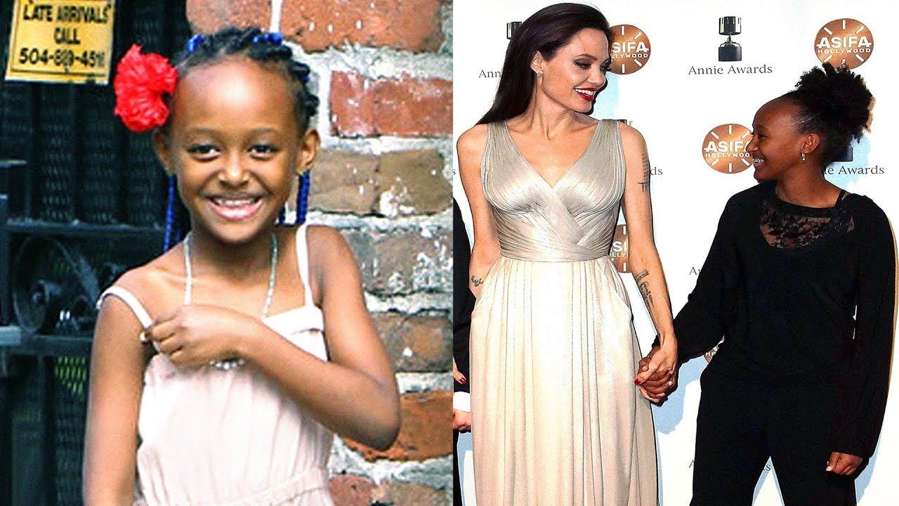 Angelina Jolie Brad Pitt S Daughter Zahara Jolie Pitt 2018