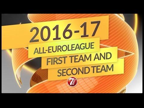 2016/17 Euroleague En İyi 5'ler Videosu
