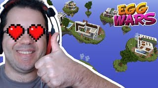 EGG WARS'TA YENİ HARİTALAR | Minecraft Egg Wars