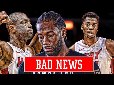 BAD NEWS ON THE KAWHI LEONARD SITUATION! MIAMI HEAT DRAMA | NBA NEWS