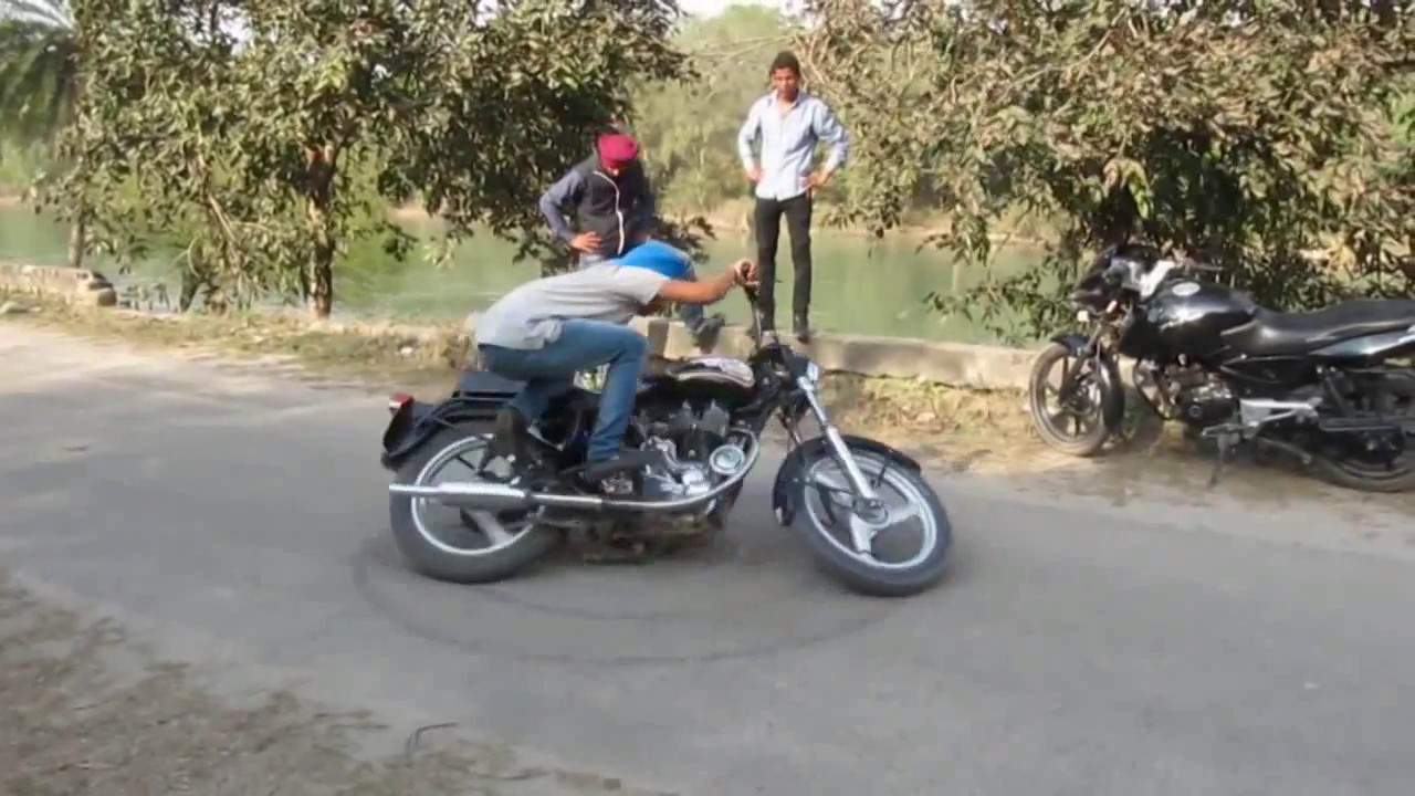 Images of Punjabi Bullet Stunts - #rock-cafe