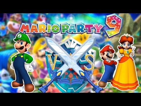 [VERSUS] BibiTm, Synea & Teox se martyrisent sur Mario Party 9 !