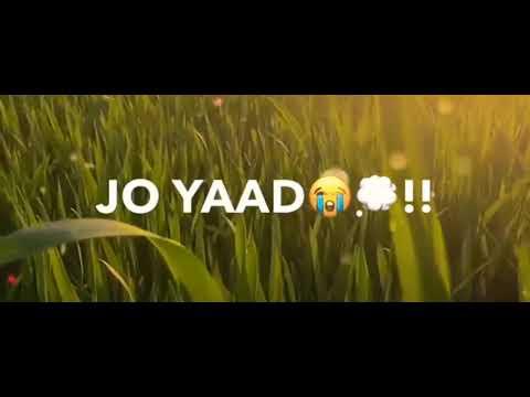 royi-na-je-yaad-meri-aayi-ve-whatsapp-status-😭💔💔