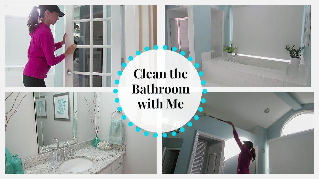Bathroom Zones clean with me | bathroom zone cleaning routine - youtube