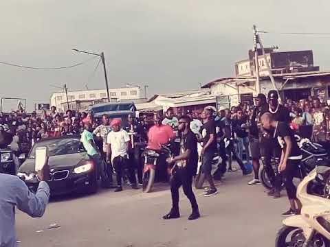 Tournage du clip d'Arafat yorobo  à Abobo