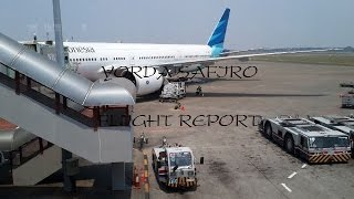 Flight Report Garuda Indonesia Boeing 777-300ER GA 980 Jakarta-Jeddah (September 15 2014)
