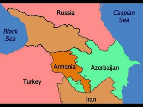 Georgia Armenia Azerbaijan Territory.mpg