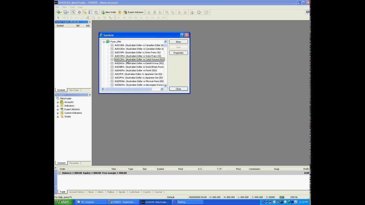 Forex trading demo login