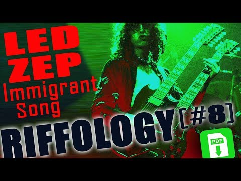 RIFF LED ZEPPELIN - IMMIGRANT SONG - PDF