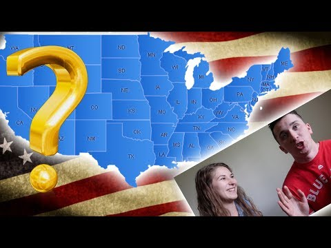 Canadians DO FIND US STATES QUIZ! Loser Eats A Pepper