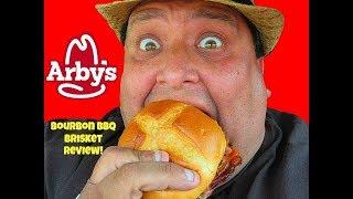 ARBY'S® Bourbon BBQ Brisket Sandwich Review!!