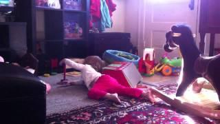 Greta Jo playing