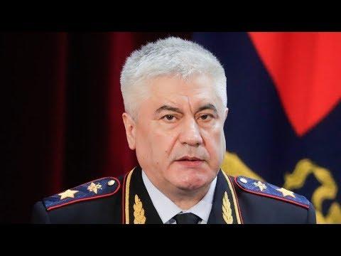 Колокольцев попросит Путина уволить двух полицейских начальников из-за дела Голунова