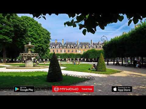 Place Des Vosges – Seconde Partie – Paris – Audioguide – MyWoWo Travel App