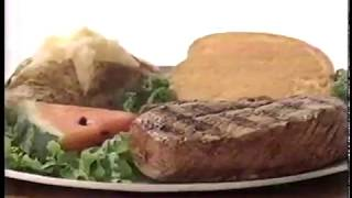 Sizzler All You Can Eat 80's Commercial (1988)