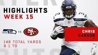 Chris Carson Highlights vs. 49ers