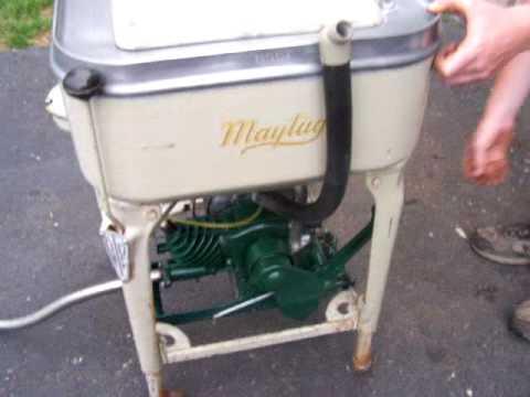 1930 Maytag Model B Washing Machine Youtube
