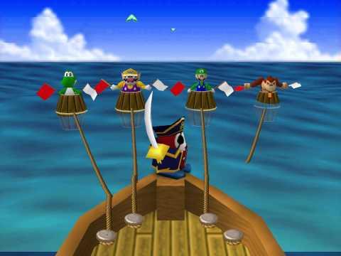 Mario Party 1 Mini-Games - Shy Guy Says