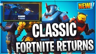 NEW Fortnite CLASSIC MODE & Beastmode SKINS