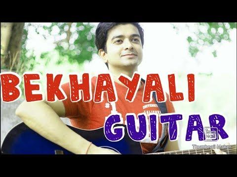 bekhayali-me-bhi-tera-|-guitar-|-bekhayali-full-song-bekhayli-me-bhi-tera-hi-khayaal-aye|