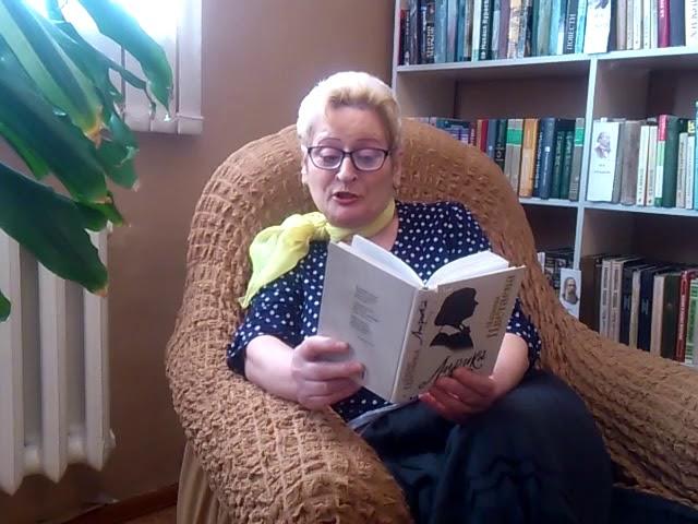 Изображение предпросмотра прочтения – Нина ВасильевнаДмитриева читает произведение «Волк» М.И.Цветаевой