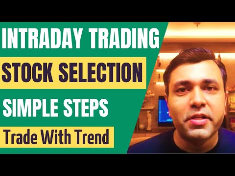 Stock Selection For Day Trading In 7 Simple Steps - Intraday Trading Strategies 🔥🔥