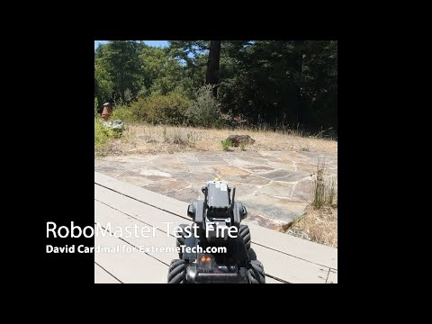 Hands On With DJI's New RoboMaster S1 Battling Robot