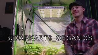 Optic 8 + Grow Light LED Unboxing y descripción general (Darkarts Organics)