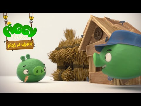 Piggy Tales - Pigs at Work | Three Little Piggies - S2 Ep23