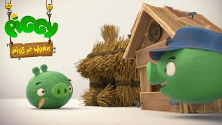 Piggy Tales - Pigs at Work | Three Little Piggies - S2 Ep23 thumbnail