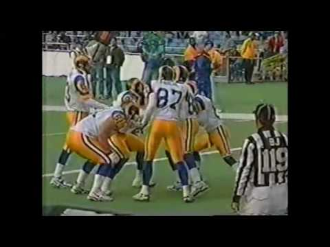 1999 Week 17 Rams vs Eagles Highlights