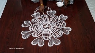 All Clip Of Small Flower Rangoli Design Bhclip Com