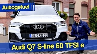 New Audi Q7 PHEV REVIEW with 450 hp - better than SQ7?