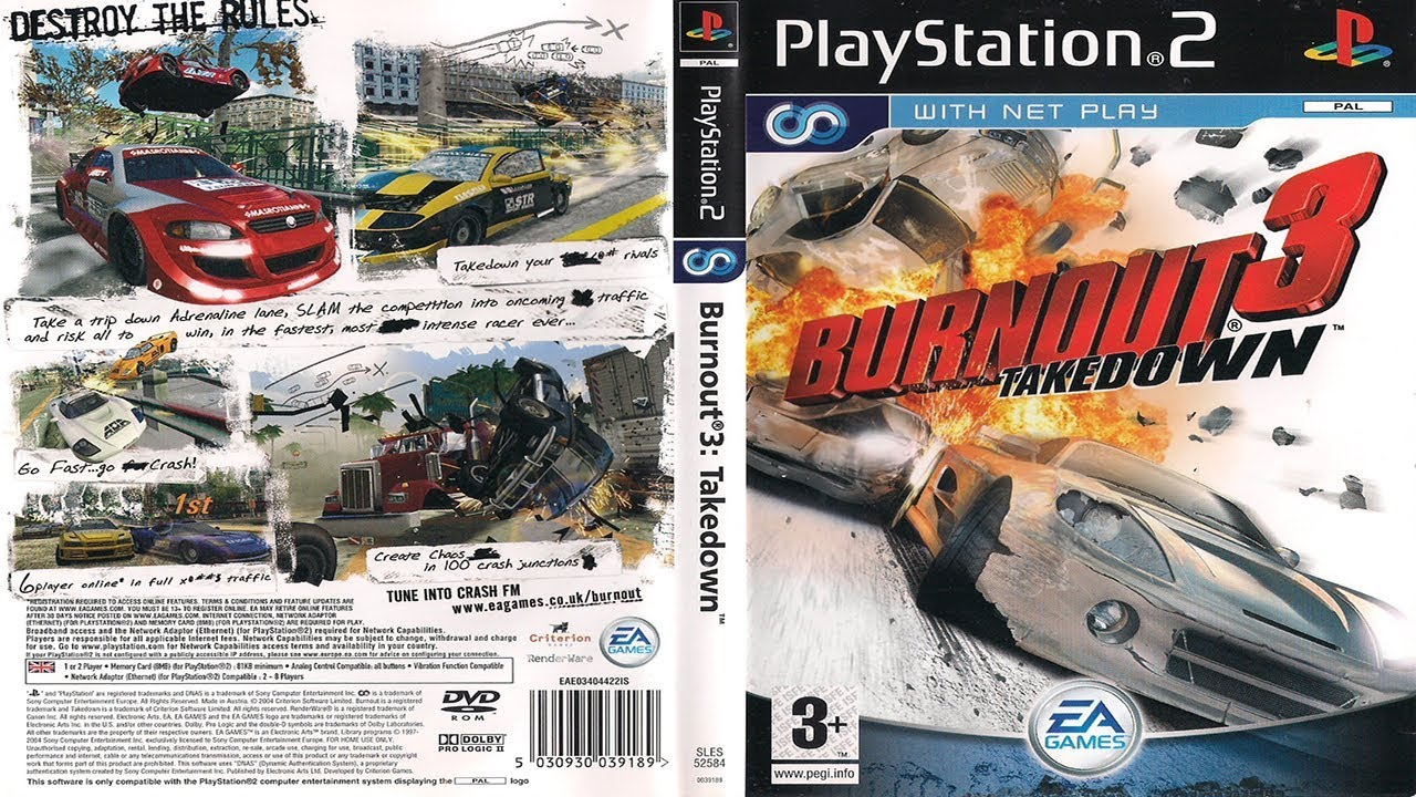 Burnout®3: Takedown™ - All 20 Takedown Trophies (Guide) by Gaming Video  Guides