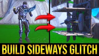 *NEW* How To Build Sideways Glitch! Fortnite Season 8 Glitch