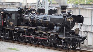 SL人吉鳥栖行き熊本駅発車と815系と415系令和3年5月1日