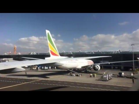 Ethiopian B777-200, Addis Ababa to Johannesburg in hyperlapse