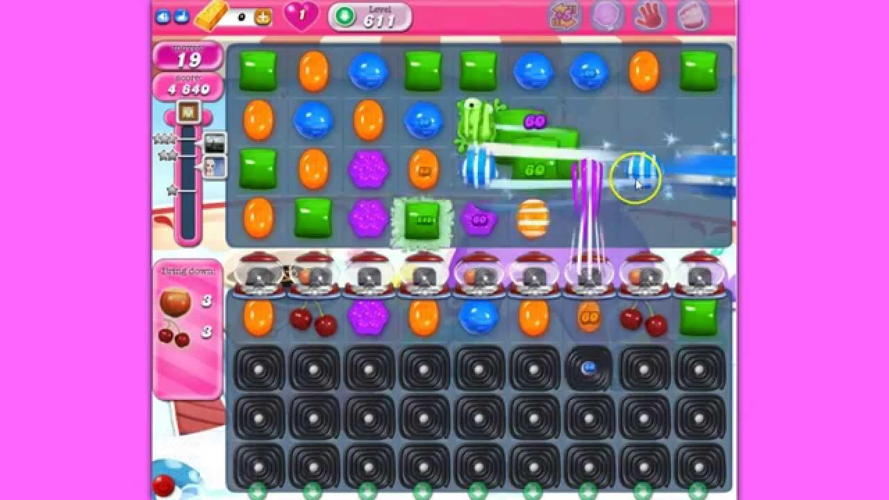 how to play candy crush saga 611