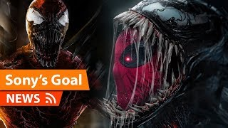 Spider-Man Vs Venom Film is the Destination for SONY says Venom Director - Sony's Spider-Man Future