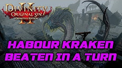 Divinity OS 2 - Definitive Edition: Habour Kraken in one Turn (Honour Mode)