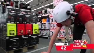 Crrazy Run - 100 seconden gratis shoppen in Mediamarkt Belgium