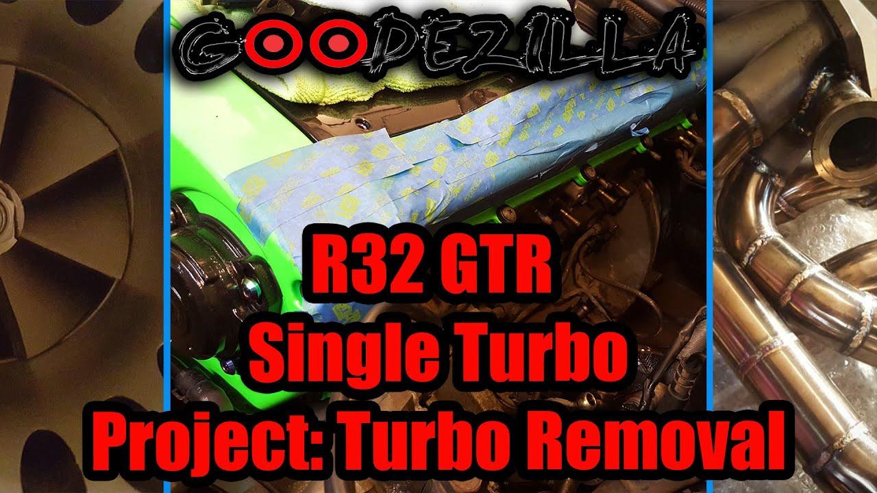 How To Remove Twin Turbos | R32 Skyline GTR | RB26DETT