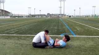 【大阪府】体力測定PR動画(FC大阪 川西誠選手)
