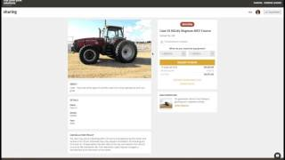 How to search farm rental equipment on MachineryLink Sharing