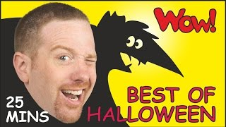 Repeat youtube video Best of Halloween + MORE| Halloween Songs and Rhymes | Stories for Kids from Steve and Maggie